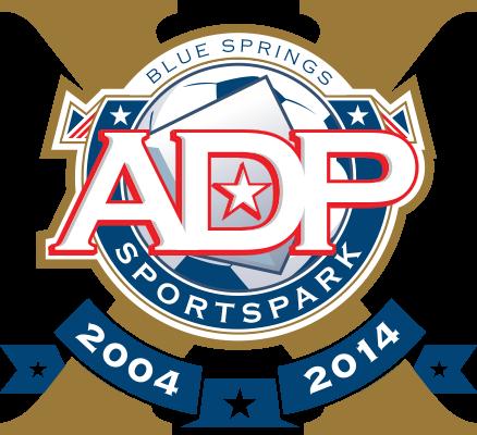 ADP SportsPark tenth anniversary logo
