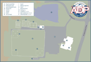 Map of ADP SportsPark